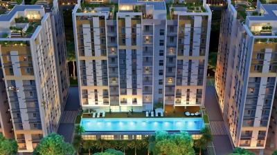 Gallery Cover Image of 1129 Sq.ft 3 BHK Apartment for rent in Aura, Mankundu for 15000