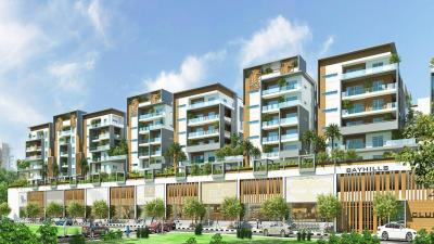 Gallery Cover Image of 1889 Sq.ft 3 BHK Apartment for rent in Bay Hills, Narsingi for 30000
