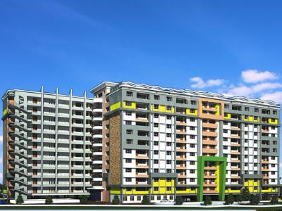 Gallery Cover Image of 1154 Sq.ft 2 BHK Apartment for buy in RK Park Ultima, Jankipuram Extension for 4439000