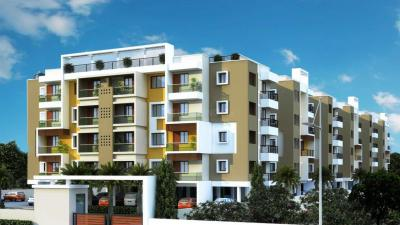 Gallery Cover Image of 1252 Sq.ft 3 BHK Apartment for rent in Color Berry, Padur for 20000