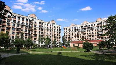 Gallery Cover Image of 745 Sq.ft 2 BHK Apartment for rent in Moraj Riverside Park, Panvel for 15000