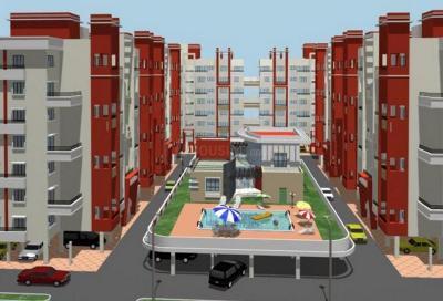 Gallery Cover Image of 710 Sq.ft 1 BHK Apartment for buy in Shreyas Palladium Grand, Dhanori for 4500000