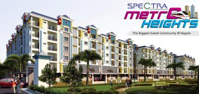 Gallery Cover Image of 1121 Sq.ft 2 BHK Apartment for buy in Spectra Metro Heights, Nagole for 5600000