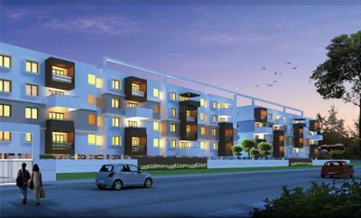 Gallery Cover Image of 1190 Sq.ft 2 BHK Apartment for buy in Prithvi Thirumala Blossoms, Gottigere for 4522000