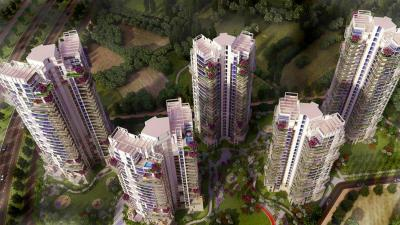 Gallery Cover Image of 220 Sq.ft 1 BHK Apartment for rent in Pioneer Park PH 1, Sector 61 for 14000