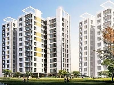 Gallery Cover Image of 1305 Sq.ft 3 BHK Apartment for rent in Bengal Greenfield Elegance, Rajarhat for 17000