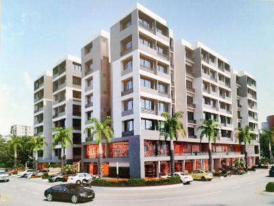 Gallery Cover Image of 1053 Sq.ft 2 BHK Apartment for buy in Shree Sarju Developers Shakti Aastha Square, Chandkheda for 3500000