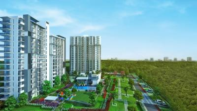 Gallery Cover Image of 1021 Sq.ft 2 BHK Apartment for buy in Godrej Oasis, Sector 88A for 7400000