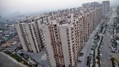 Gallery Cover Image of 1075 Sq.ft 2 BHK Apartment for rent in Gaursons Hi Tech 7th Avenue, Noida Extension for 13500