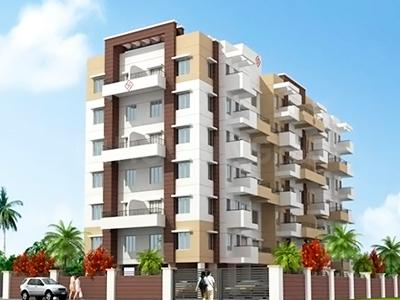 Gallery Cover Image of 925 Sq.ft 2 BHK Apartment for buy in KK Chrysanth, Rahatani for 6100000