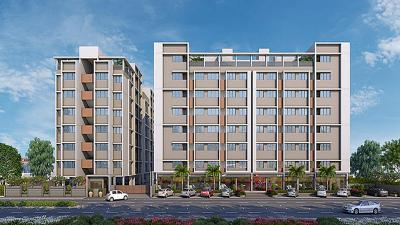 Gallery Cover Image of 700 Sq.ft 1 BHK Apartment for buy in Sun Simpolo, Bopal for 3200000