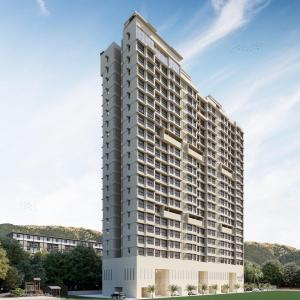 Gallery Cover Image of 417 Sq.ft 1 BHK Apartment for buy in Ashray Jaswanti Woods, Mulund West for 9150000