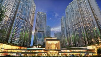 Gallery Cover Image of 1150 Sq.ft 2 BHK Apartment for buy in Adhiraj Capital City, Kharghar for 11000000