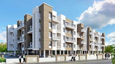 Gallery Cover Image of 480 Sq.ft 1 BHK Apartment for rent in Triaa Prince Town, Shikrapur for 4500