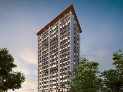 Gallery Cover Image of 251 Sq.ft 1 BHK Apartment for buy in Satellite Aarambh Wing A B, Kandivali East for 4725000