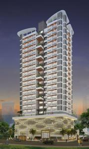 Gallery Cover Image of 678 Sq.ft 1 BHK Apartment for buy in Laxmi Callista, Goregaon West for 12900000