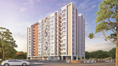 Gallery Cover Image of 904 Sq.ft 2 BHK Apartment for buy in Mont Vert Sonnet, Tathawade for 5800000