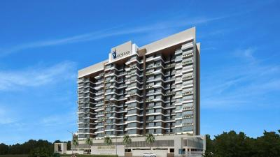 Gallery Cover Image of 1210 Sq.ft 2 BHK Apartment for buy in Akshar Alvario, Nerul for 18000000