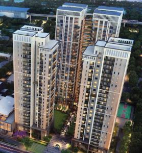 Gallery Cover Image of 2150 Sq.ft 3 BHK Apartment for buy in Silverglades Hightown Residences, Sushant Lok I for 30100000