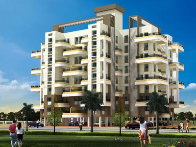 Gallery Cover Image of 500 Sq.ft 1 BHK Apartment for buy in Onnyyx Sai Villa, Wadgaon Sheri for 3100000