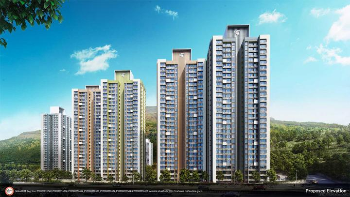 Gallery Cover Pic of Wadhwa Wise City South Block Phase I Plot RZ8 Building 3 Wing C3