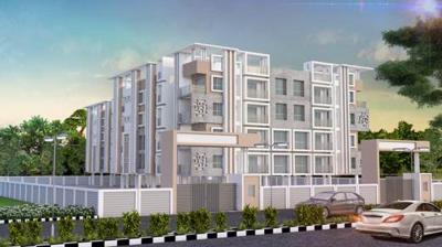 Gallery Cover Image of 992 Sq.ft 3 BHK Apartment for buy in The Indiana, Rajarhat for 3472000