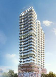 Gallery Cover Image of 550 Sq.ft 1 BHK Apartment for buy in Sanghvi Estella, Parel for 18000000
