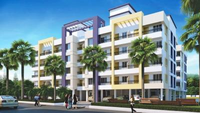 Gallery Cover Image of 616 Sq.ft 1 BHK Apartment for rent in Sarthak, Talegaon Dhamdhere for 5000