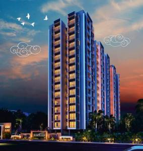 Gallery Cover Image of 1764 Sq.ft 3 BHK Apartment for buy in Nexrise Joy, Maninagar for 9702000