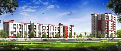 Gallery Cover Image of 1170 Sq.ft 3 BHK Apartment for rent in Adena, Padur for 25000