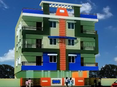Gallery Cover Image of 631 Sq.ft 2 BHK Apartment for buy in Sunrise Tower, New Rani Bagh for 1370000