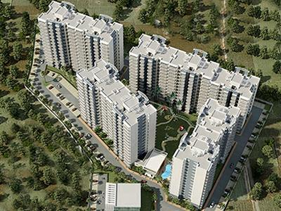 Gallery Cover Image of 600 Sq.ft 1 BHK Apartment for buy in Bedarwal Consortium Sixty Three Golf Drive, Sector 62 for 1900000
