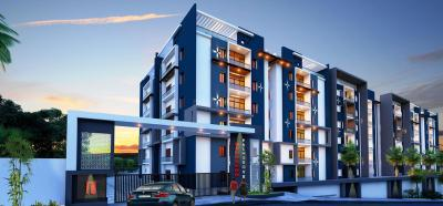 Gallery Cover Image of 1200 Sq.ft 2 BHK Apartment for buy in Mahaveer Palm Grove, Begumpet for 8700000