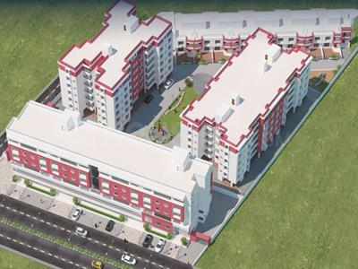 Gallery Cover Image of 820 Sq.ft 2 BHK Apartment for buy in Fortune Dream Con Fortune World, Dunetha for 3000000