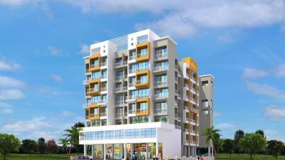 Gallery Cover Image of 1050 Sq.ft 2 BHK Apartment for rent in Dubey Gayatri Chhaya, Karanjade for 11000