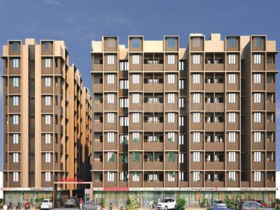 Gallery Cover Image of 612 Sq.ft 1 BHK Apartment for buy in Divyajivan City, Nava Naroda for 1350000