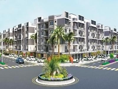 Gallery Cover Image of 850 Sq.ft 1 BHK Apartment for buy in Shapers Swastik City, Narolgam for 1900000