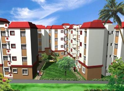Gallery Cover Image of 1270 Sq.ft 4 BHK Apartment for rent in Sisirkunja, Madhyamgram for 13000