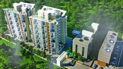 Gallery Cover Image of 1332 Sq.ft 2 BHK Apartment for buy in Malkani Bon Vivant, Mundhwa for 8000000