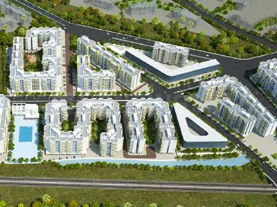 Gallery Cover Image of 720 Sq.ft 2 BHK Apartment for buy in HDIL Residency Park, Virar West for 3300000