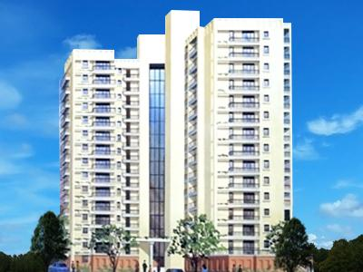 Gallery Cover Image of 1700 Sq.ft 2 BHK Apartment for rent in Motwani Builders Fairmont Towers, Cooke Town for 65000