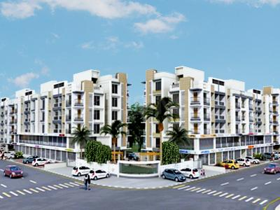 Gallery Cover Image of 1553 Sq.ft 3 BHK Apartment for buy in B Desai Anand Square, Chandkheda for 6500000
