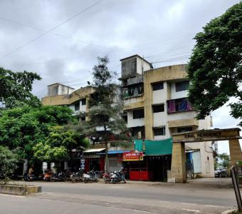 Gallery Cover Image of 650 Sq.ft 1 BHK Apartment for buy in Kunal Residency, Thergaon for 3500000