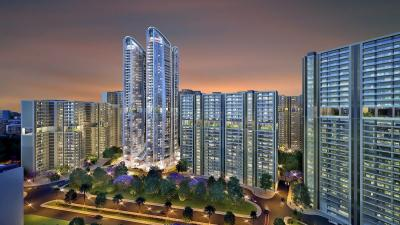 Gallery Cover Image of 1195 Sq.ft 3 BHK Apartment for buy in The Amaryllis, Karol Bagh for 27500000
