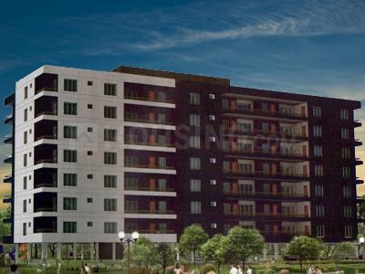 Gallery Cover Image of 1000 Sq.ft 2 BHK Apartment for buy in Om Lalji Nirvana Luxury, Veer Sawarkar Nagar for 8000000