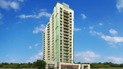 Gallery Cover Image of 1060 Sq.ft 2 BHK Apartment for buy in Unique Skyline II, Mira Road East for 9800000