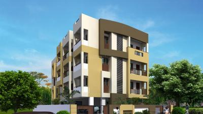 Gallery Cover Image of 750 Sq.ft 2 BHK Apartment for buy in Atharva Balaji Enclave, Govindpuram for 1350000