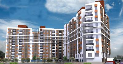 Gallery Cover Image of 650 Sq.ft 2 BHK Apartment for rent in BCT Sonar Sansar, Rajpur Sonarpur for 5800