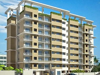 Gallery Cover Image of 1500 Sq.ft 3 BHK Apartment for rent in RNA NG sterling, Mira Road East for 20000