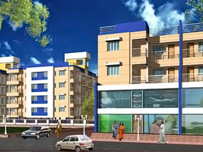 Gallery Cover Image of 1302 Sq.ft 3 BHK Apartment for rent in Sgil Orchid, Chotto Chandpur for 9000